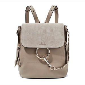 Chloe Faye Small Backpack - Motty Grey